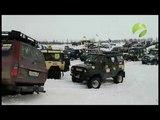По капот в снегу. 25 экипажей вышли на старт трофи-рейда