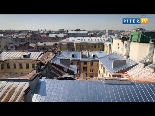 Крыши и фасады в Центре Петербурга отремонтируют до конца сентября