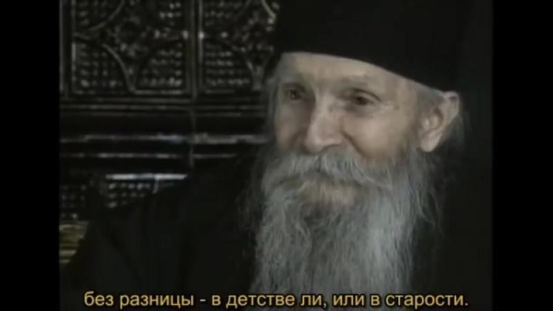 Архим. Фаддей Витовницкий - «Каковы мысли твои, такова и жизнь твоя»