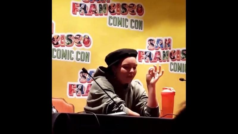 Камрен Бикондова на «San Francisco Comic Con» (09.06.2018) 1