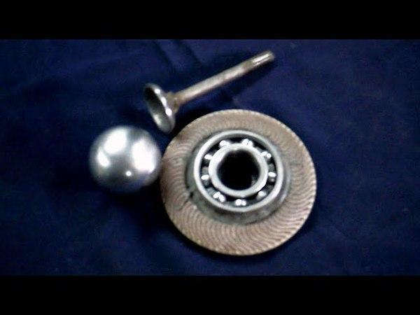 Как сделать идеальный металлический шар из пластины