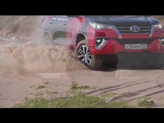 Нассер Аль-Аттия на Toyota Fortuner