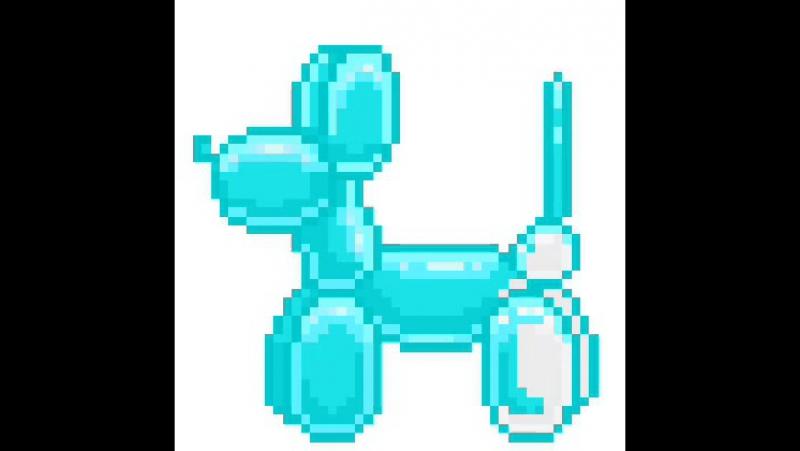 надувная собачка-такса