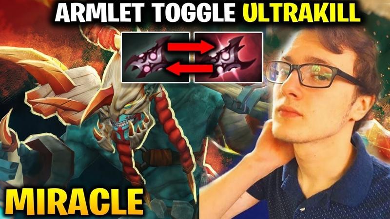 Miracle Huskar Armlet Toggle Lead to ULTRAKILL