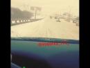 Водитель автомобиля двигается по встречной полосе на МКАД