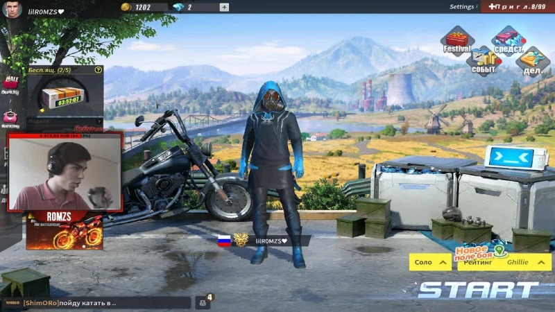 Hack or Luck?! Rules Of Survival/TOP 6 EU!