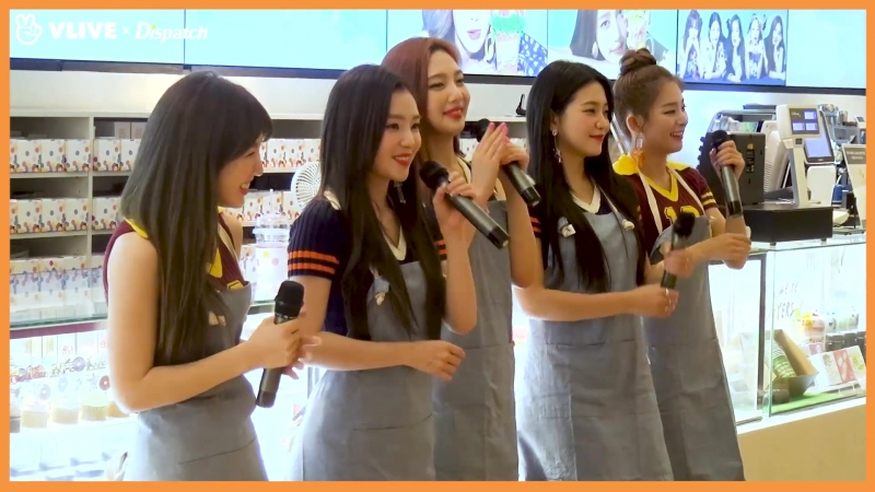 "180818 V LIVE - [ⓓxV] ""레베럽, 파워업!""...레드벨벳(Red Velvet), 역조공 귀요미"