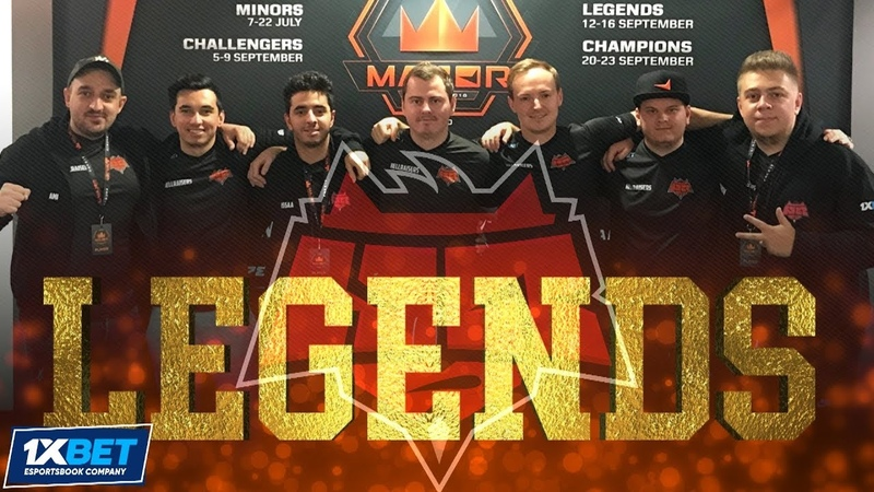 CS:GO HellRaisers - THE PATH OF LEGENDS by 1xBet