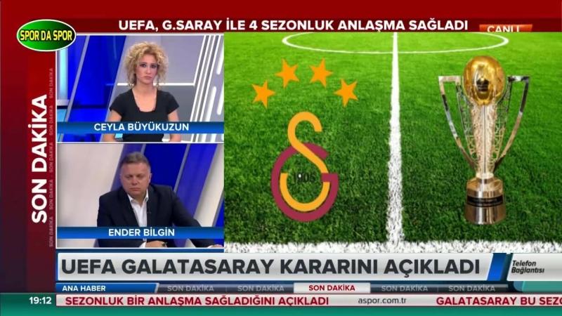 Uefa Galatasaray Kararını Açıkladı Uğur Karakullukçu ve Levent Tüzemen Yorumları