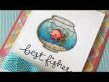 How to make a water-filled shaker card