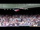 Флаг США упал на Олимпиаде-2012 в Лондоне между РФ и РБ это знак! ха ха .