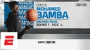 Magic take Mo Bamba with No 6 overall pick in 2018 NBA draft pick analysis interview ESPN