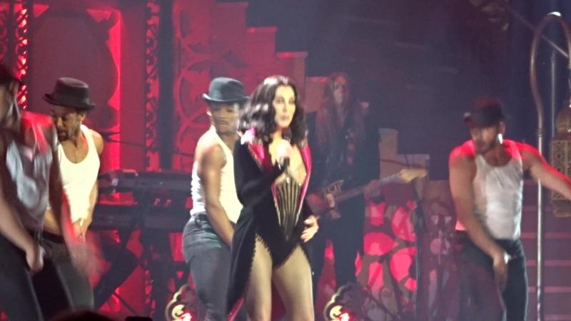 Шоу-концерт Cher Classic Cher в MGM-Park в Лас-Вегасе, май 2018, 6