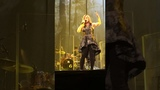 Lara Fabian camouflage world tour painting the rain live in Brussels