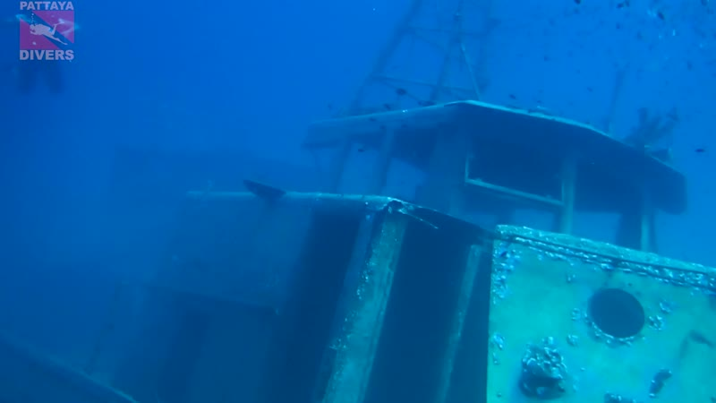 T-11 Wreck in 2015 | Diving Koh Chang, Thailand