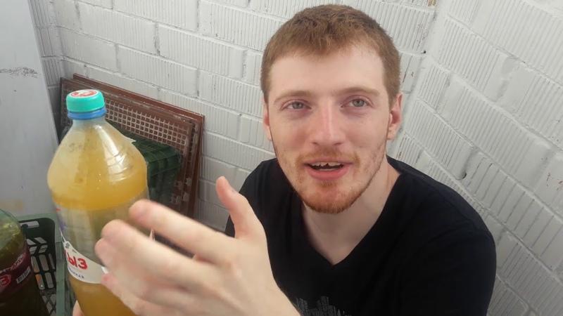 Эльдар Богунов дегустирует шок бутылки