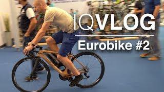 Eurobike 2018 Tag 2: Elite Fuoripista, TBK-Holz-Rennrad, Fidlock, Airace, BikeBalls, uvm. IQVLOG