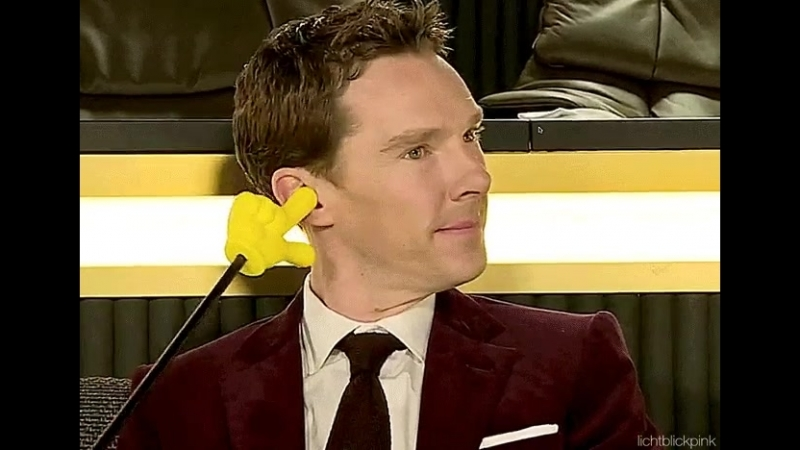 AHAHAHAH! I CANT! SUCH A GOOF! - BenedictCumberbatch