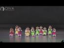 Детские современные танцы, группа 4-5 лет с номером Во дворе зимой, педагог Ольга Кучуркина