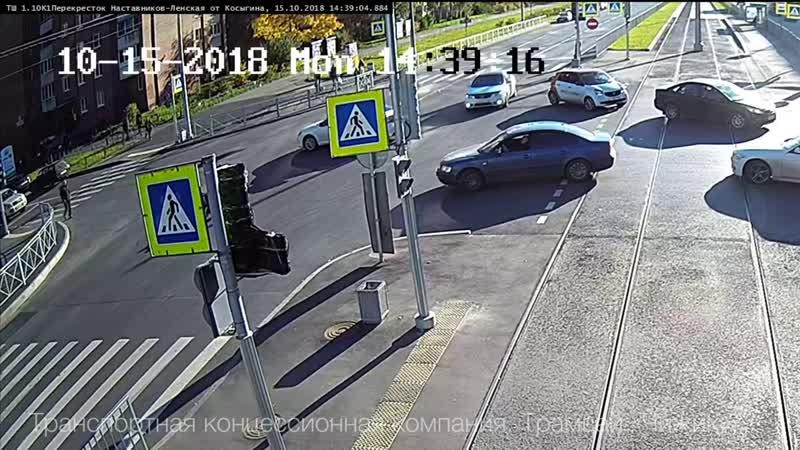 ТДП на пересечении проспекта Наставников и Ленской улицы