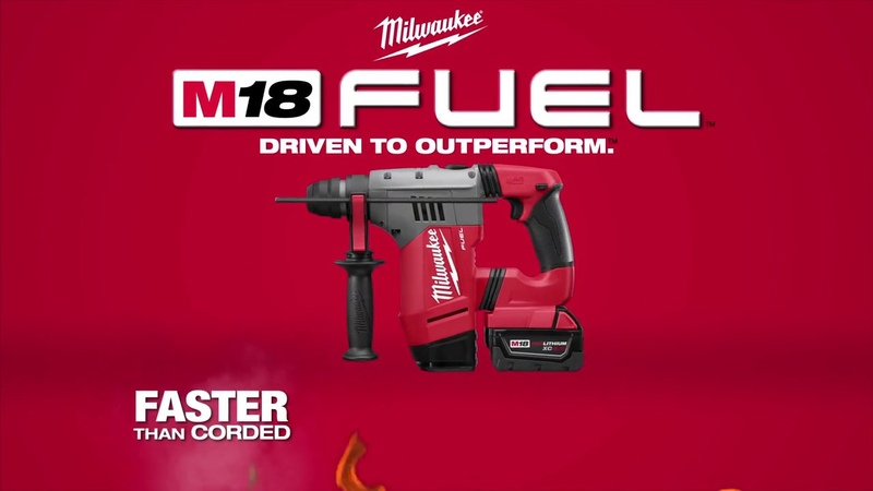 Milwaukee 2712 2715 M18 FUEL SDS Plus Rotary Hammers
