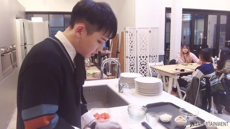 제이앤엔터테인먼트.Z-uK(지욱) 식사이벤트 'DINNER EVENT' 비하인드