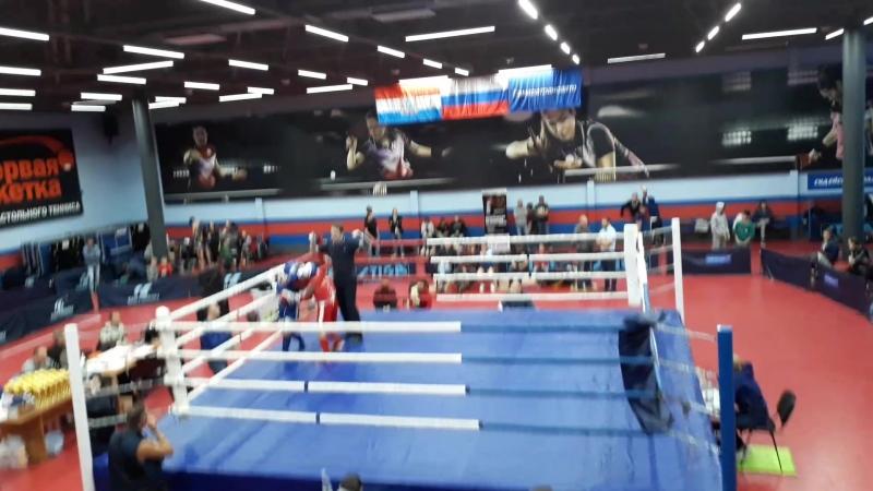 тайский бокс синий угол победа ! ! ! Аметхан Поллыев