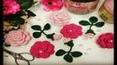 Vamos Aprender a Tecer um Lindo Galho com Botão de Rosa em Crochê