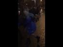 В Таганроге голая Снегурочка плясала на улицах города