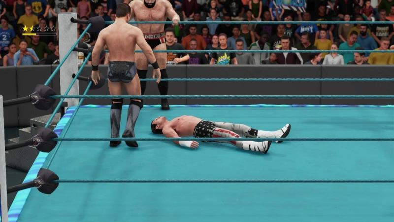 ||WW|| Dolph Ziggler AJ Styles vs The Miz Rusev (SOF)