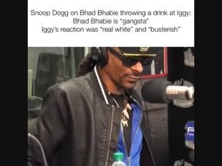 Snoop Dogg speaks about Bhad Bhabie x Iggy Azalea conflict