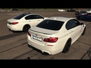 Manhart MH5 700 BMW M5 F10 LOUD Revs Drag Racing