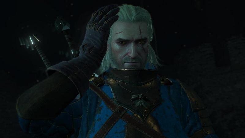 The Witcher 3 Страх Геральта