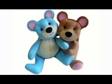 How to make a teddy bear tutorial, free pattern and easy to make with Lisa Pay