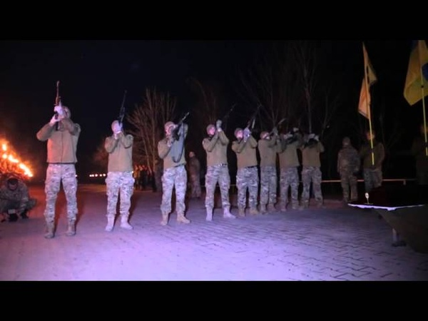 Прощання з бійцем другої сотні полку АЗОВ Французом