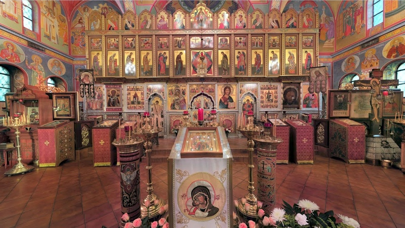 2015.12.13. Holy Apostle St. Andrew the First-called. Liturgy (in English)