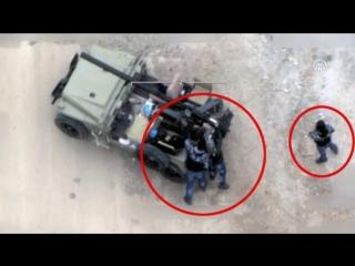 Уничтожение иранского джипа