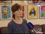 Выставка детской арт-студии Александра и Елены Дёмышевых в библиотеке Грина(ГТРК Вятка)