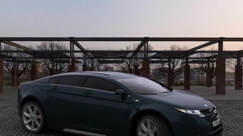 Новая Волга 5000GL, такого от ГАЗа никто не ожидал.mp4