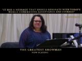Репетиция песни «This Is Me» в исполнении Килы Сеттл для фильма «Величайший шоумен»