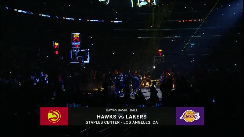Atlanta Hawks - Los Angeles Lakers