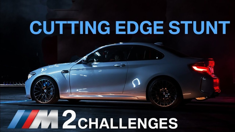 BMW M2 Competition The Cutting Edge Stunt.