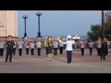 Миллион алых роз - духовой оркестр из Монголии, Амурские волны-2018