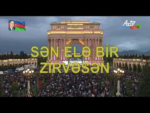 Gəncədə Ulu Öndər Heydər Əliyevin anadan olmasının 95 illik yubileyinə həsr olunmuş Konsert proqramı