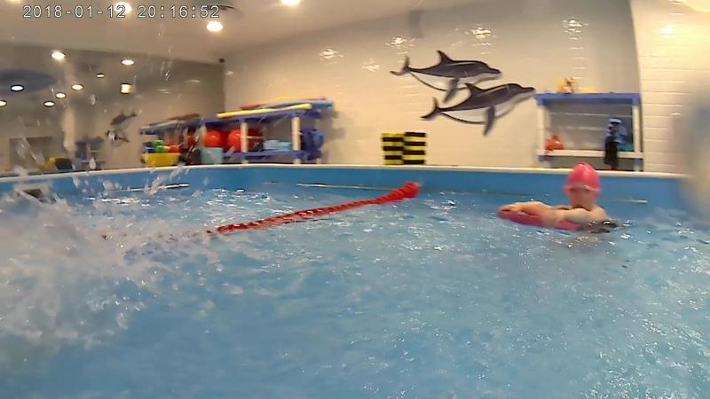 Тренировка по плаванию с Евгением Аникеевым