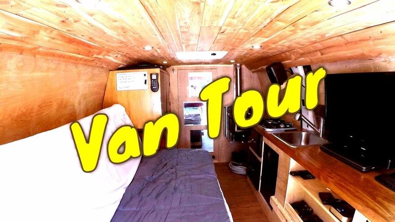 STEALTH VAN LIFE TOUR   Extremely ORGANIZED Cargo Van Conversion