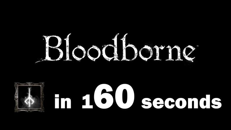 Platinum in 160 seconds - Bloodborne