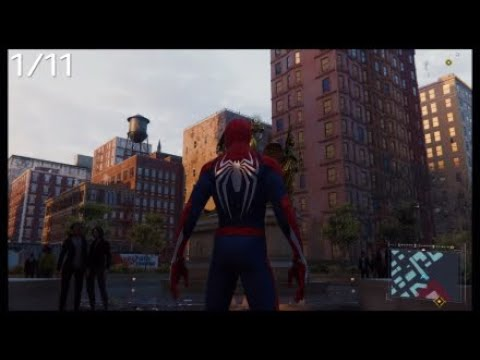 Marvel's Spider Man Тайные Фотоснимки Гарлем