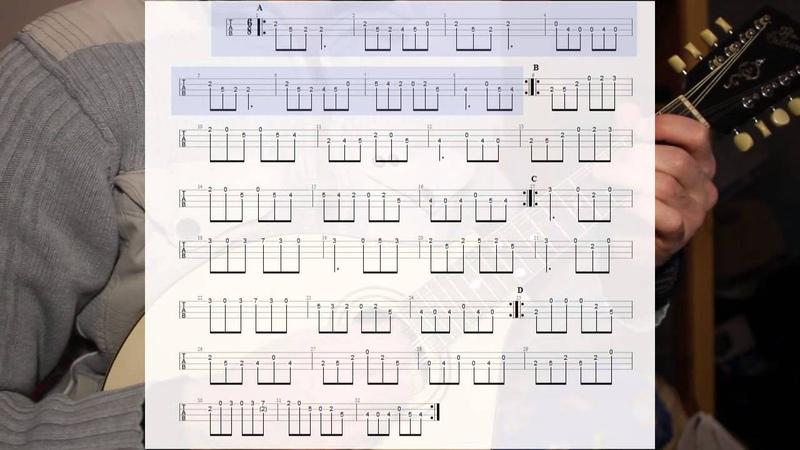 Irish mandolin lessons. Monaghan Jig