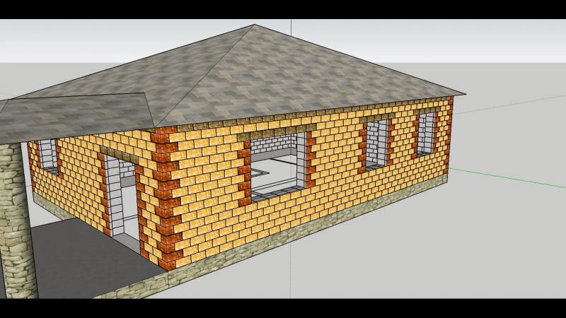 Теплоблок - Теплостен 3D-модель
